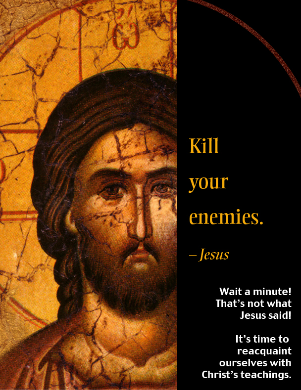 "love your enemies essay What's so complicated about ""love your enemies"" so when i read ""love your enemies that you may be i'd be eager to read a more detailed essay on the."